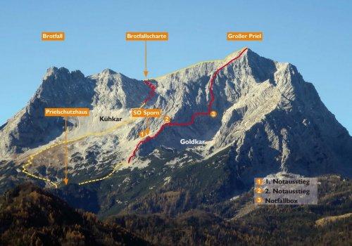 Priel Klettersteig