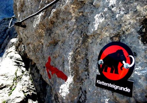 Die Mammut Klettersteig Runde